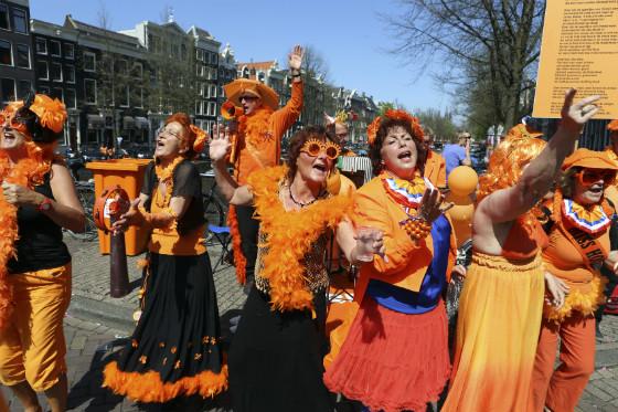 Koninginnedag 2012 Amsterdam