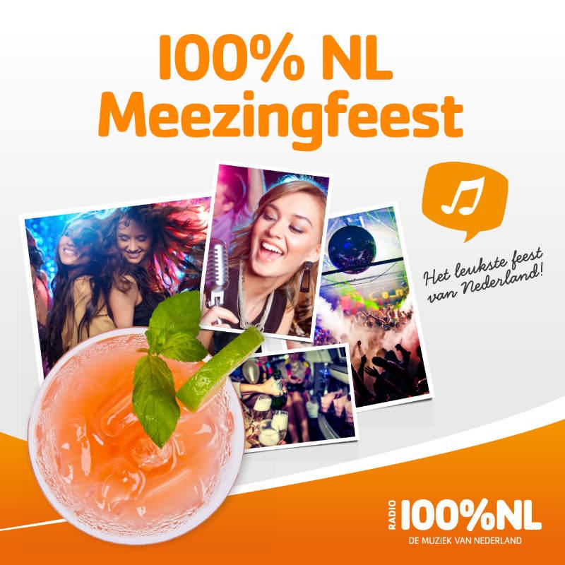 100% NL Meezingfeest van de NVL