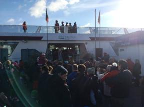 Pieten op de Sinterklaasboot