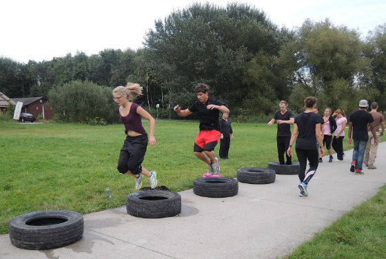 Bootcamp groeps training