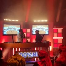 DJ's draaien aan het red van de muziekkeus